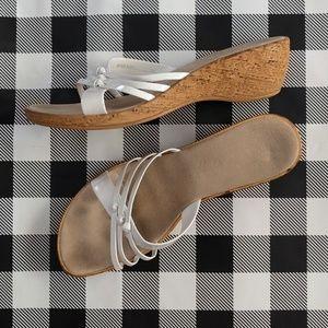 Italian 🇮🇹 Made Wedge Strap Sandals